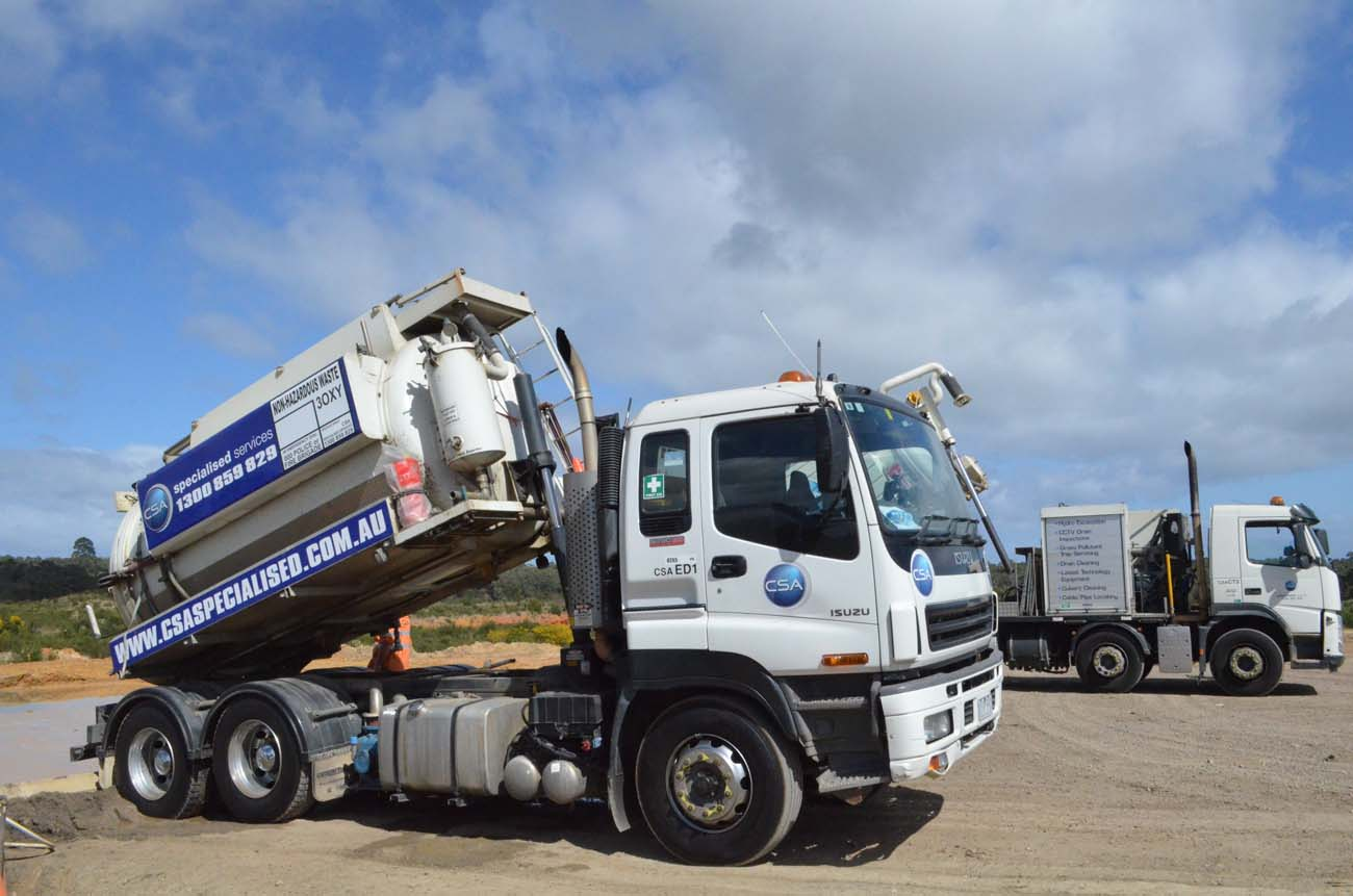CSA fleet - eductor truck