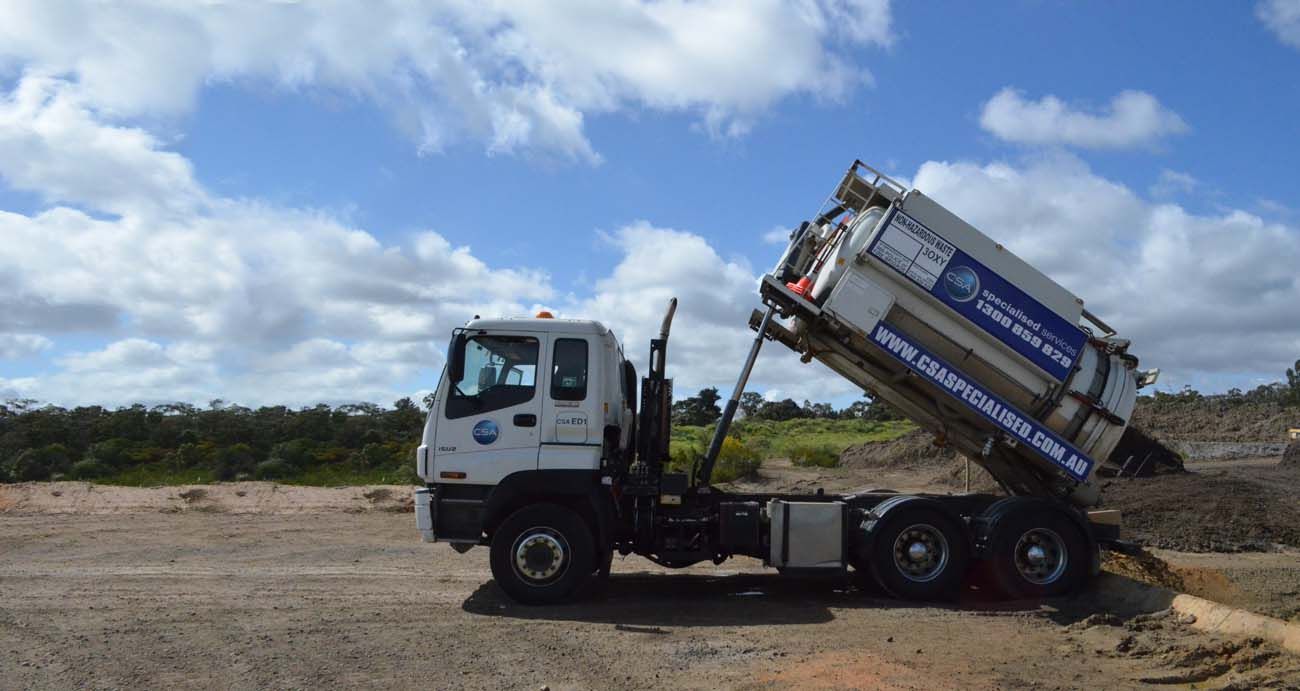 Liquid Waste Removal Truck - CSA Specialised Services