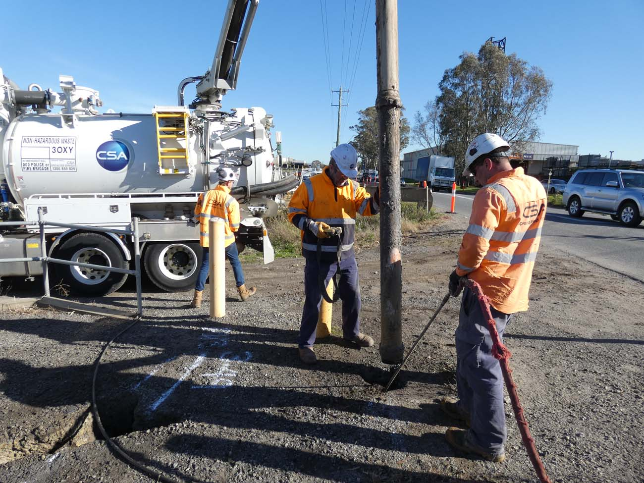 Non-Destructive Digging with Hydro Excavation - CSA Specialised Services