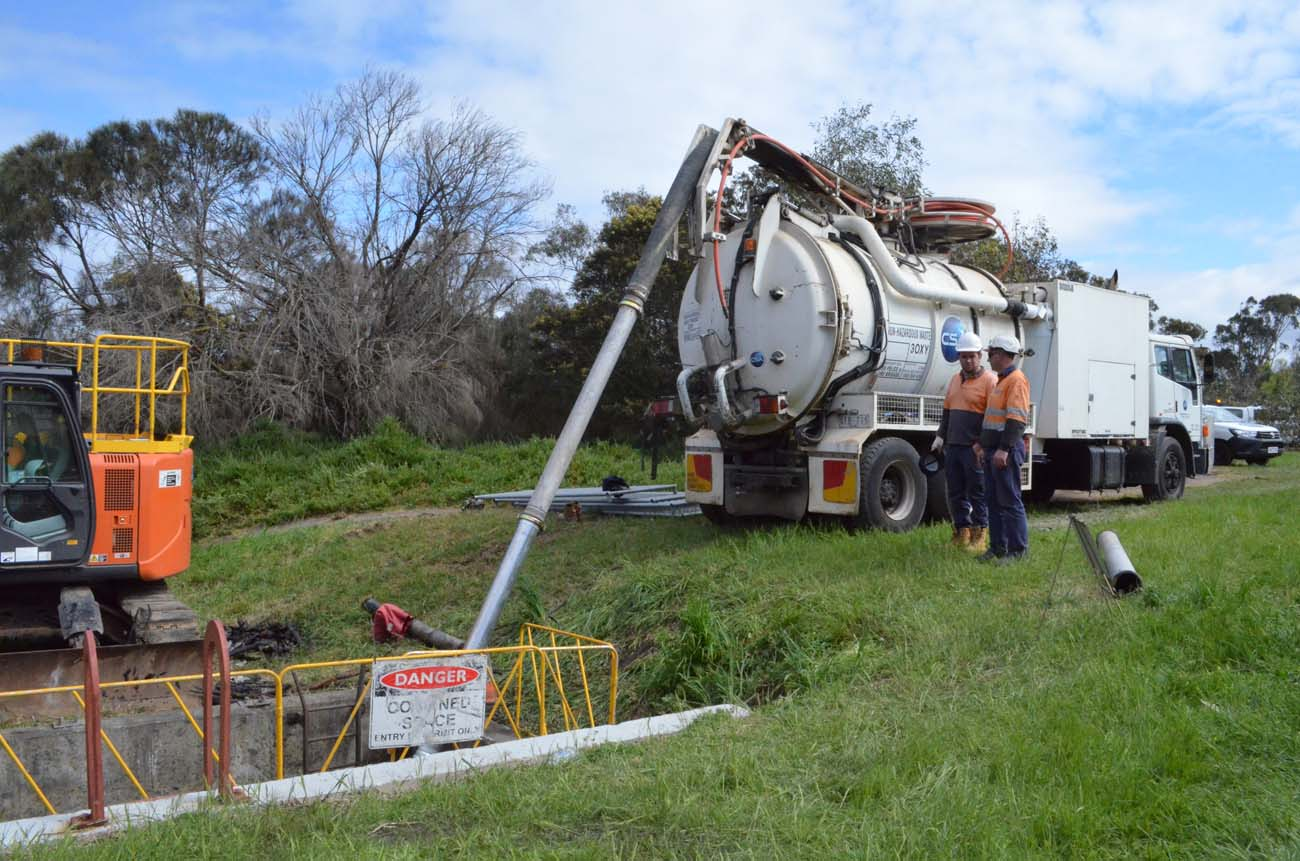 Hazardous Liquid Waste Removal by CSA Specialised Services