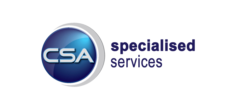 CSA Specialised Services Logo on Map