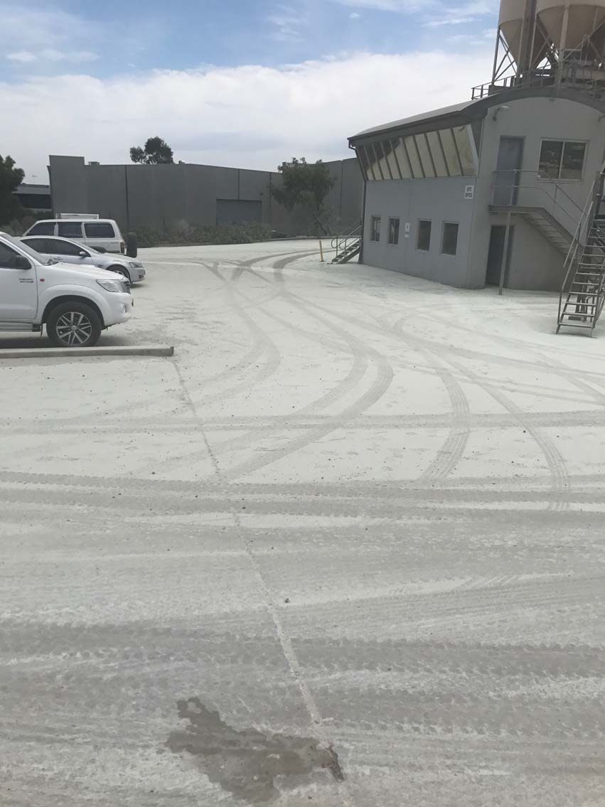 Cement Spill Emergency Response - Hallam