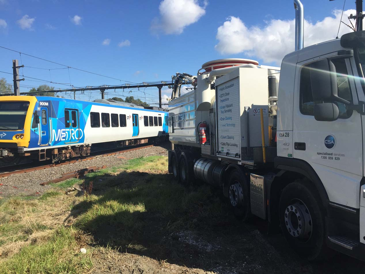 CSA NDD Project for Melbourne Metro