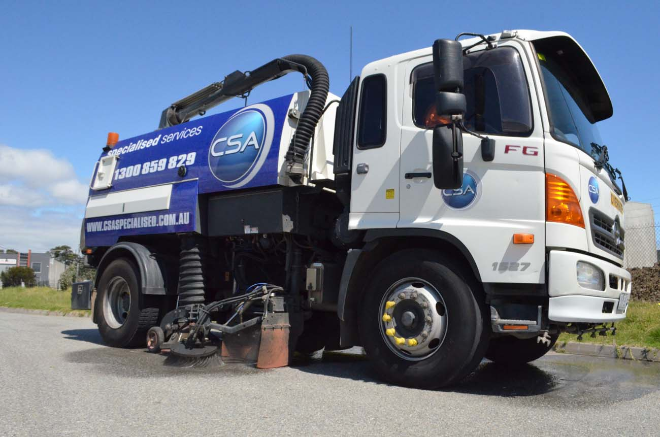 Industrial Sweeping Services Melbourne
